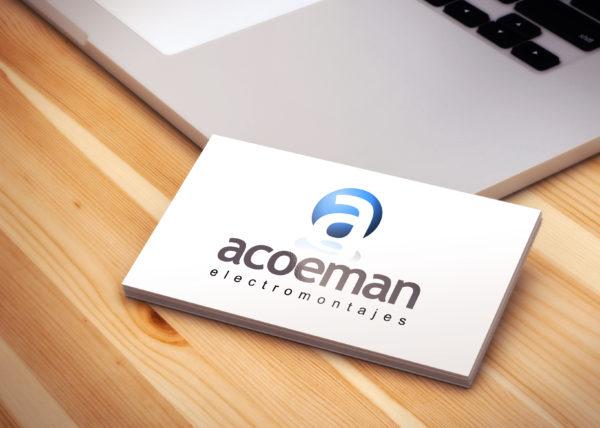 Electromontajes Acoeman - Logotipo - Juan Ángel Ortiz