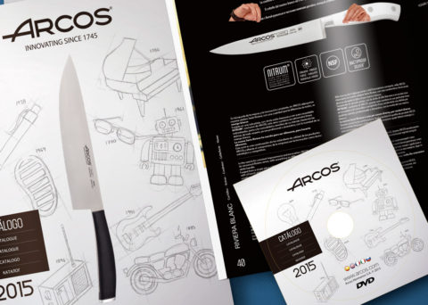 Cuchillos Arcos - Poster - Juan Ángel Ortiz