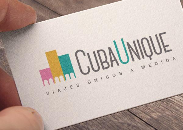 Viajes Cuba Unique - Logotipo - Juan Ángel Ortiz