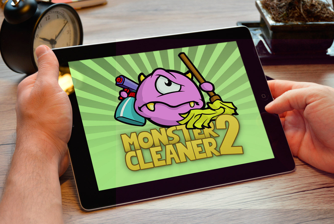 Monster Cleaner - Juan Ángel Ortiz