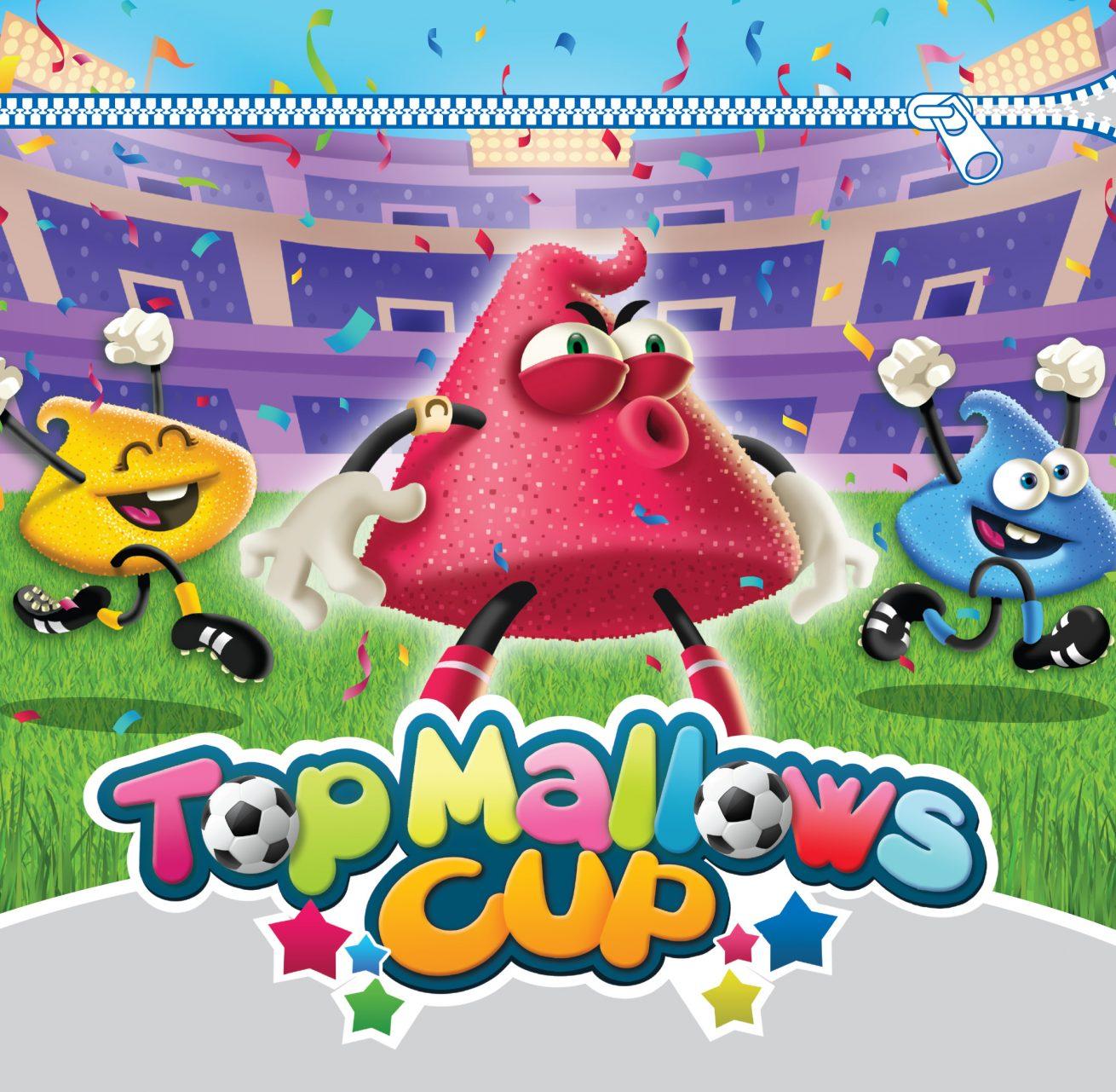 Ilustración y diseño Top Mallows Cup