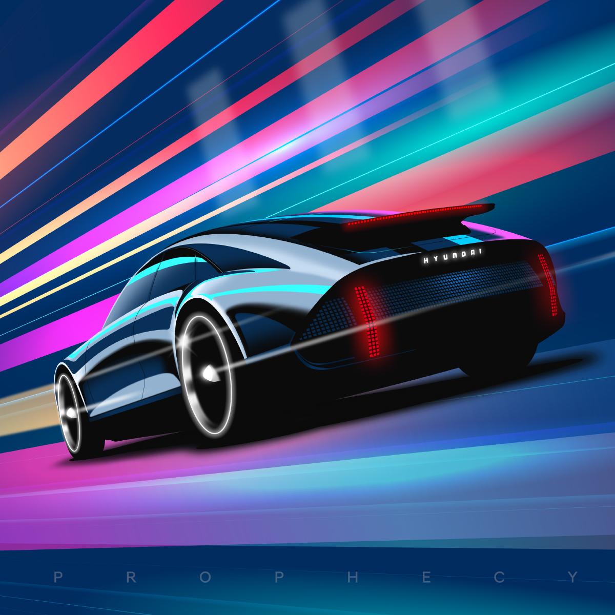 Ilustración y diseño para Hyundai Spain